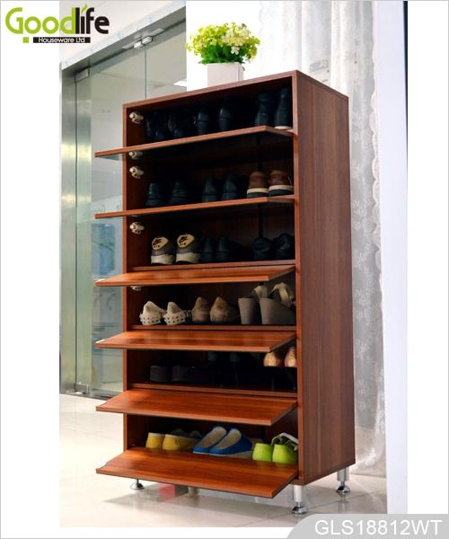 moderne schuhregal f r 30 paar schuhe. Black Bedroom Furniture Sets. Home Design Ideas