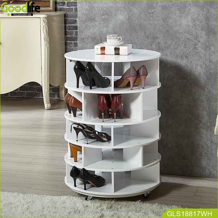 Goodlife entrada muebles giratorio zapato rack zapatos organizador ...