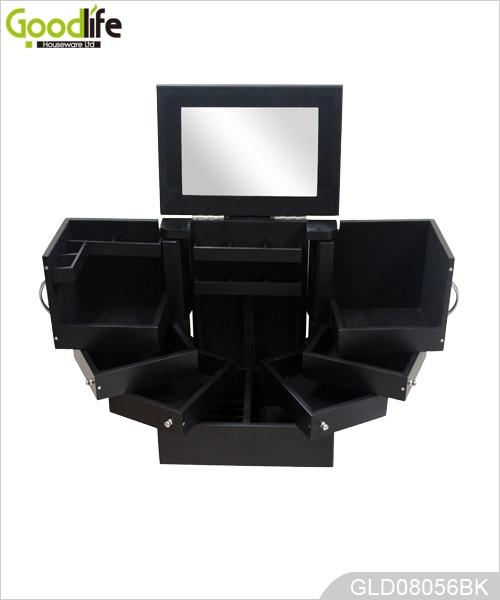 peinture la main maquillage en bois armoire de rangement. Black Bedroom Furniture Sets. Home Design Ideas