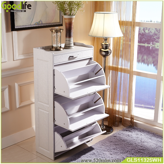High Quality Living Room Furniture Wooden Shoe Rack Wholesale