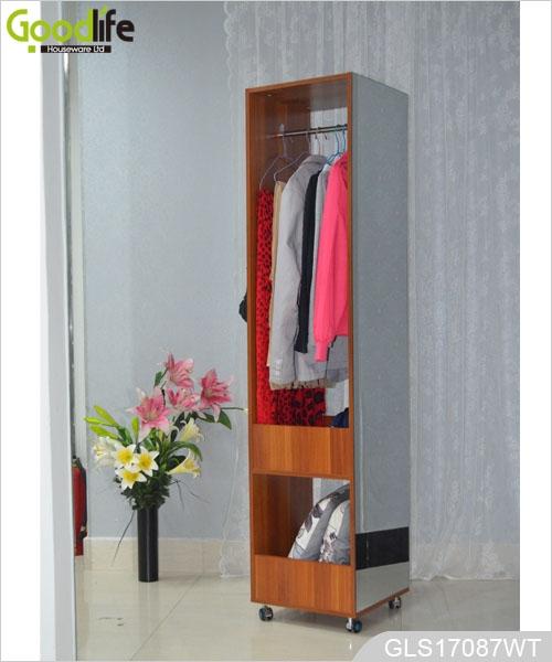 Guardamuebles inicio gabinete de ropa de madera de for Gabinete de almacenamiento dormitorio