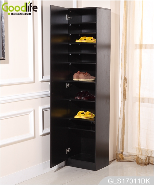 grand meuble de rangement en bois pour chaussures made in. Black Bedroom Furniture Sets. Home Design Ideas