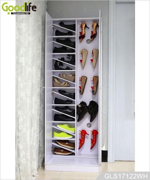 Madera armario con espejo de zapatos con un dise o moderno for Disenos de zapateros en madera