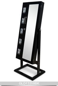 Las grandes puertas dobles cuadrados de espejo del for Espejos de cuerpo entero con pie
