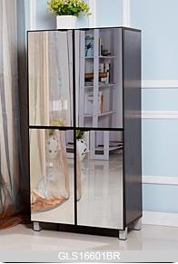 grande armoire de rangement pour des chaussures pour le. Black Bedroom Furniture Sets. Home Design Ideas
