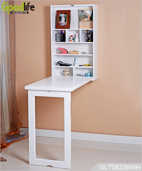 Wall mounted dining room table