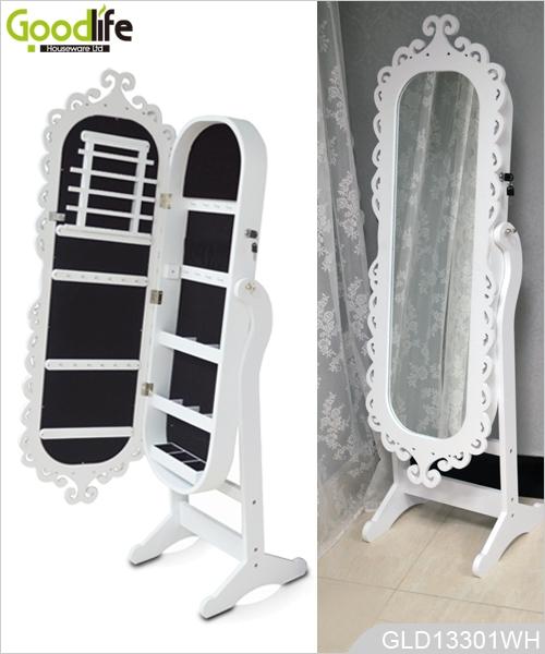 Ganzkörperspiegel Ikea gravur rahmen oval aus holz schrank mit ganzkörperspiegel