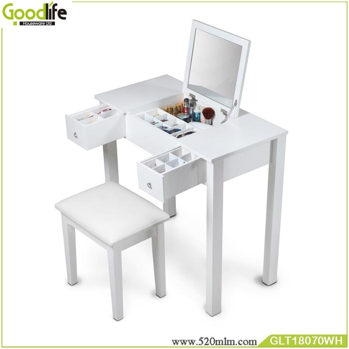 Bedroom Vanities Product: Mirror Furniture Guangdong Supplier Bedroom Makeup Vanity