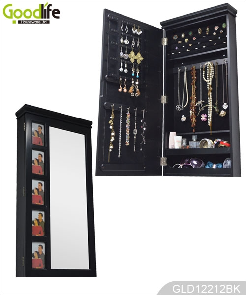 miroir meubles guangdong miroir de l 39 armoire de bijoux avec des cadres photo. Black Bedroom Furniture Sets. Home Design Ideas