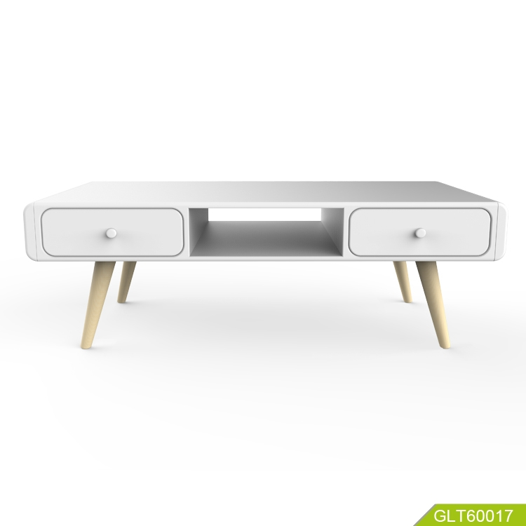 Modern Fashion Simple New Style Home Furniture White High