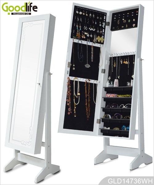 versandpaket spiegel schmuckschrank. Black Bedroom Furniture Sets. Home Design Ideas
