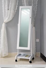 Full Length Mirror Jewelry Cabinet