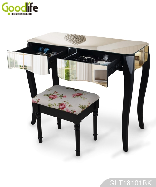 Popular living room modern dressing table with mirrors.jpg
