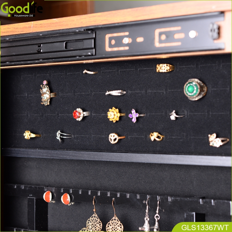 Roating Coat Hanging With Jewellery Cabinet For Living