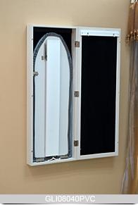 Wall Mount Mirror Ironing Board Folding Inside Cabinet