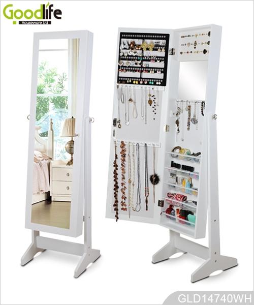 Aparadores Olaio ~ Madera fábrica de armario del gabinete joyas maquillaje blanco