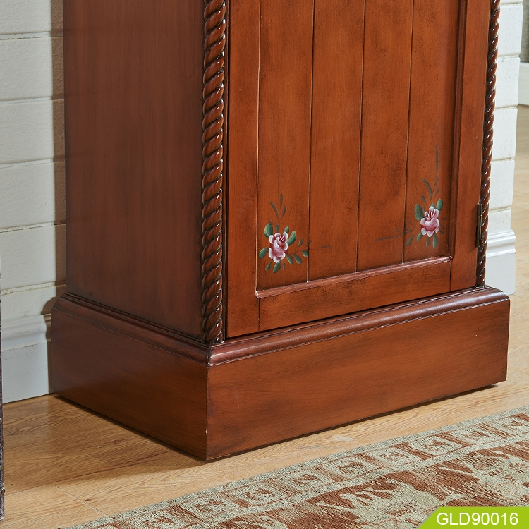 corner wardrobe dressing cabinet bedroom GLD90016