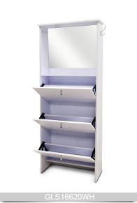 Style ikea fonctions multiples meuble de rangement en bois for Ikea meuble rangement chaussures